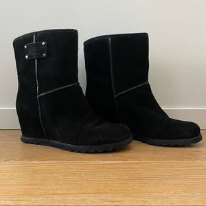 Marc By Marc Jacobs Hidden Wedge Faux Sherpa Boot